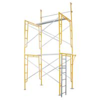 China Walk Through / Door Type Frame Scaffolding System Painting Building wholesale