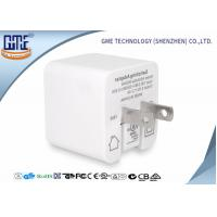 Buy cheap White Single Port Foldable US PIN Usb Travel Adaptor 5V 2.4A High Efficiency from wholesalers