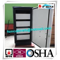 Quality Fireproof 4 Drawer File Cabinet Safe Flammable Locker Magnetic Proof For CD for sale