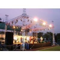 China 400*400mm Portable Aluminum Truss Stage Light Frame For Outdoor Advertising wholesale