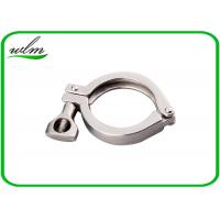 China Hygienic Heavy Duty Pipe Clamps DIN ISO 3A SMS Standard With Highly Sealing wholesale