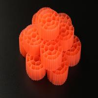 China Virgin HDPE Material Plastic Filter Media With 19 Holes And White Color For RAS wholesale