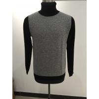 China Mens Cable Knit Turtleneck Sweaters , Merino Wool Cashmere Men Long Sleeve Pullover wholesale