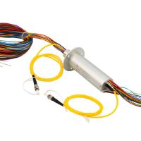 Buy cheap Electrical and Optical Slip Ring with 240 VDC Volatge 50Hz Frequency for Electro from wholesalers
