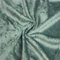 Quality plush fleece fabric for cushion Velboa slipper fabric fabric price per yard for sale