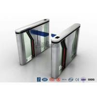 China Pedestrian Intelligent Security Drop Arm Turnstile Access Control with LED Indicator wholesale