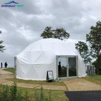 China 6m Diameter Steel Frame Transparent PVC Geodesic Dome Tent for Exhibition wholesale