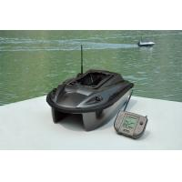 China ABS Plastic RC Wireless twin-hull twin-rudder Fish Finder Bait Boats with GPS, LED light wholesale