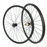 China MTB 29er Carbon Fiber Mountain Bike Wheels , UD Matte Carbon Fiber Road Wheels wholesale