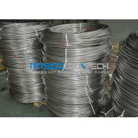 China Cold Drawn Stainless Steel Seamless Coiled Tubing 9.53mm x 0.89mm on sale