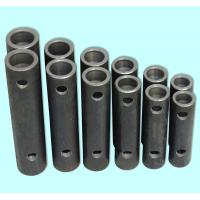 China Bright Black Steel Grouted Splice Coupler , Grout Sleeve Rebar Splice Coupler wholesale