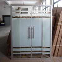 China Bathroom Shower Glass Hot Selling In Saudi Araba, Hangzhou Shower Screen for Cheapest Rates wholesale