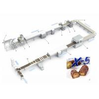 China 150L Mixer Tank Pastry Making Equipment  Snickers Enrobing Production Line wholesale