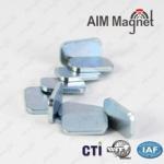 China Super Strong Block Strip Cuboid Magnet Rare Earth N52 Grade Neodymium 50x7x1.2mm wholesale
