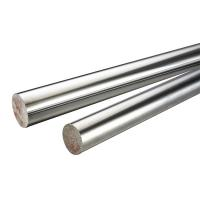 China 45 # / 304 Stainless Steel Chrome Piston Rod , Different Diameters Cylinder Piston Rod wholesale