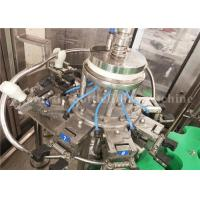 China Automatic 330ML Glass Bottle Juice Filling Capping Production Machine For Small Juice Plant wholesale