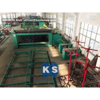 China Custom Gabion Mesh Machine Wire Netting Machine For 4m X 1m X 1m Box Packing Press wholesale