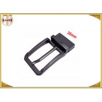 China Vintage Ferrous Free Metal Belt Buckle With Embossed Logo Or Label wholesale