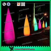 China Ada Inflatable 210T polyester Cloth Decoration Inflatable Cone For Events Entrance wholesale