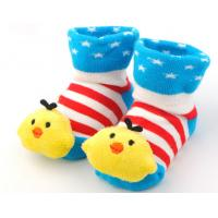 China 2016 Newest cute 3D cartoon knitted cotton baby socks wholesale
