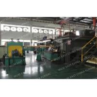 China 3-strands  Horizontal Copper Continuous Casting Machine for  95x25 Red Copper Pipes wholesale