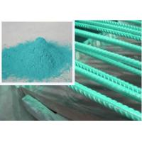 China Metallic Green Rebar Epoxy Coating Penetration Resistance Less Funnelled wholesale