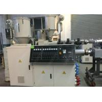 China Precision Single Screw Plastic Pipe / Sheet Extrusion Machine With Alloy Steel Screw wholesale