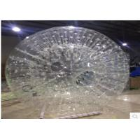 China Leisure Centres Grass Inflatable Zorb Ball for Soccer Team 200*140cm on sale