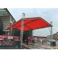 China Mobile Aluminum Stage Truss , DJ Light Stand Truss 400x400 Millimeter Size on sale
