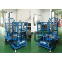 China Cargo Picker 2.8m Mast Type Self Propelled Elevating Work Platforms for Warehouse wholesale