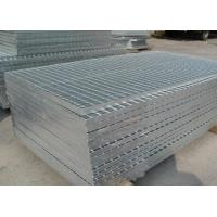 China 3mm Thickness Hot Dip Galvanized Grating Q235 Welded Cooling Towers Grating on sale