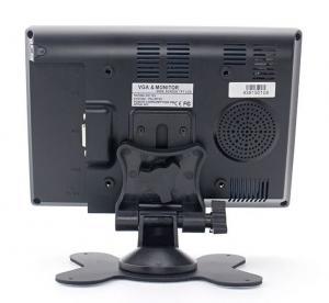 "Quality 7"" TFT LCD HD Monitor with HDMI/VGA/AV1/AV2/Audio Input 800x480 16:9 Built-in for sale"