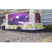 China Waterproof Mobile Truck Mounted Led Display PH 8mm Aluminum Alloy wholesale