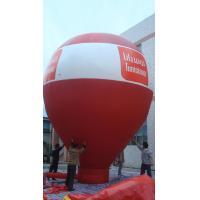 China Red Promotion Inflatable Advertising Products , Advertising Balloons For Rent on sale
