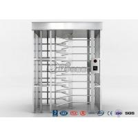 China Single Channel Full High Turnstile / High Security Turnstile with 304 Stainless Steel Housing wholesale