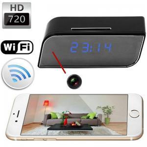 Quality T8S 720P Alarm Clock WIFI P2P IP Spy Hidden Camera Home Security CCTV Surveillan for sale
