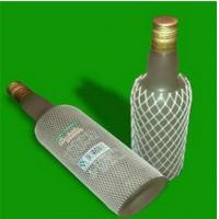 Buy cheap Expandable PE Plastic Protective Mesh Liquor Bottle Sleeves , White from wholesalers
