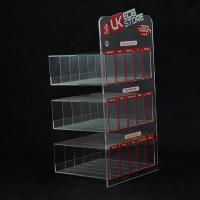 China E Liquid 3 Tier Acrylic Retail Display Stands 200PCS For Adevertisement wholesale