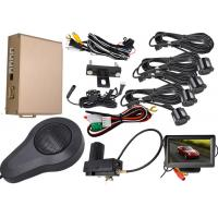 China 0.3 - 1.8m Display Distance Front And Rear Parking Sensor Kit Working With Original Car Brake System wholesale