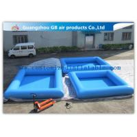 China 0.9mm Pvc Tarpaulin Small Inflatable Pool Portable Swimming Pool For Kids wholesale