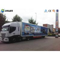China Outdoor Movable Truck Mobile 5D Cinema Equipment 5D Flying Cinema wholesale