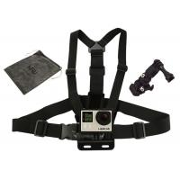 China GoPro Camera Chest Strap Harness Mounts with 3-way Adjustment Base & Bag wholesale