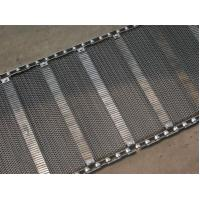 China Industrial Stainless Steel Flat Wire Conveyor Belt Exceptionally High Yield Point wholesale