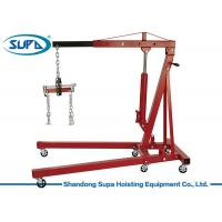 China 2 Ton Mobile Pickup Truck Crane Hand Operation Rotation Type Resistance To Shock wholesale