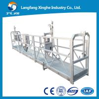 China xinghe Steel / Aluminum Alloy Adjustable Suspended Working Platform Hanging platform wholesale