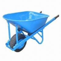 China Heavy-duty Wheelbarrow with 200kg Loading Capacity and 100L Water Capacity wholesale