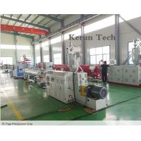 China PE Pipe Extrusion Line / Water Supply Pipe Production Machine wholesale