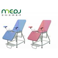 China Pink Color Portable Gynecological Hospital Use Examination Table wholesale