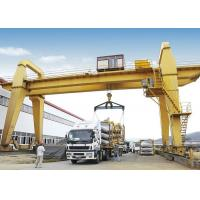 China Heavy Duty Electric Double Girder Gantry Crane For Outdoor Loading And Unloading wholesale