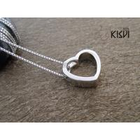 China Fashion Jewelry Heart 925 Sterling Silver Gemstone Pendant with Zircon W-VB893 wholesale